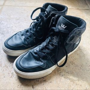 Gently used *Supra* high tops! Boys skate shoes!